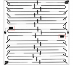 Interacting Qubit-Photon Bound States with Superconducting Circuits